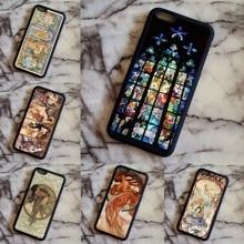 Arsmundi font b 2018 b font Alphonse Alfons Mucha Dance Phone Cases for font b iPhone