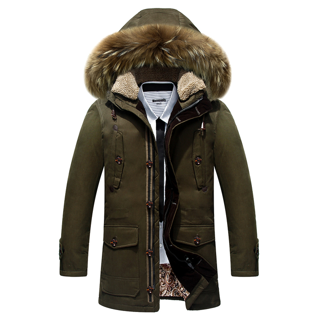 2016 Down uma seção curta de grosso casaco de inverno dos homens gola do casaco Nagymaros homens helly hansen piumino 8201