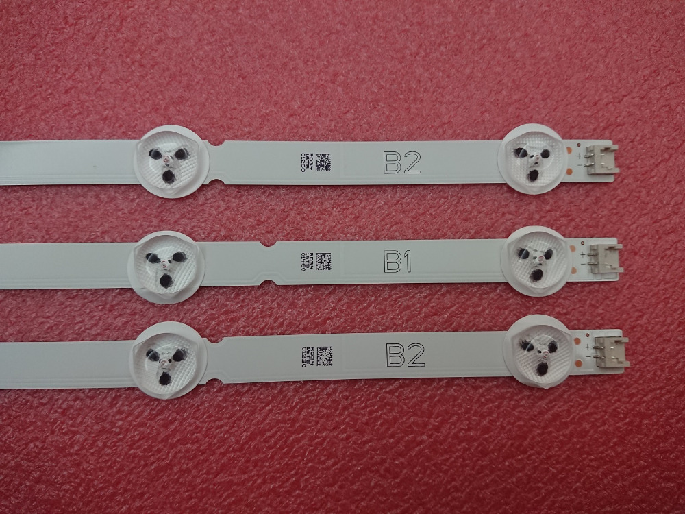New Original 3 PCS*7LED 630mm B1 B2 LED Backlight Strip for LG 32LN541V 32LN540V 6916L 1437A 6916L 1438A LC320DUE SF R1-in LED Strips from Lights & Lighting