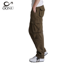 Free Shipping 30 44 High Quality Men s Cargo joggers Pants Military for Men Overalls tactical