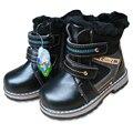 Envío Gratis 1 par de arranque de Invierno Botas de Nieve caliente Niños de LA MANERA, Exportados Europa Rusia MARCA Boy Kids Sneakers