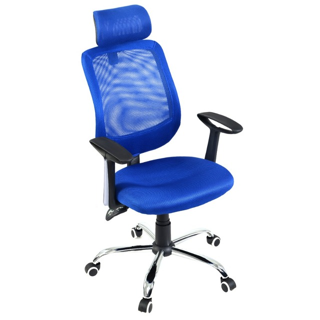 SEAT&HEADREST HEIGHT ADJUSTABLE BACK TILTABLE MESH OFFICE CHAIR NEW STYLE HW51441