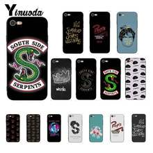 Yinuoda American TV Riverdale Series Cole Sprouse Logo Phone Case for iPhone 8 7 6 6S 6Plus X XS MAX 5 5S SE XR 10 11 pro max(China)
