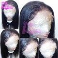 Cheap Italian Yaki Full Lace Wig Brazilian Virgin Hair Yaki Lace Front Wig With Baby Hair Glueless Yaki Full Lace Human Hair Wig