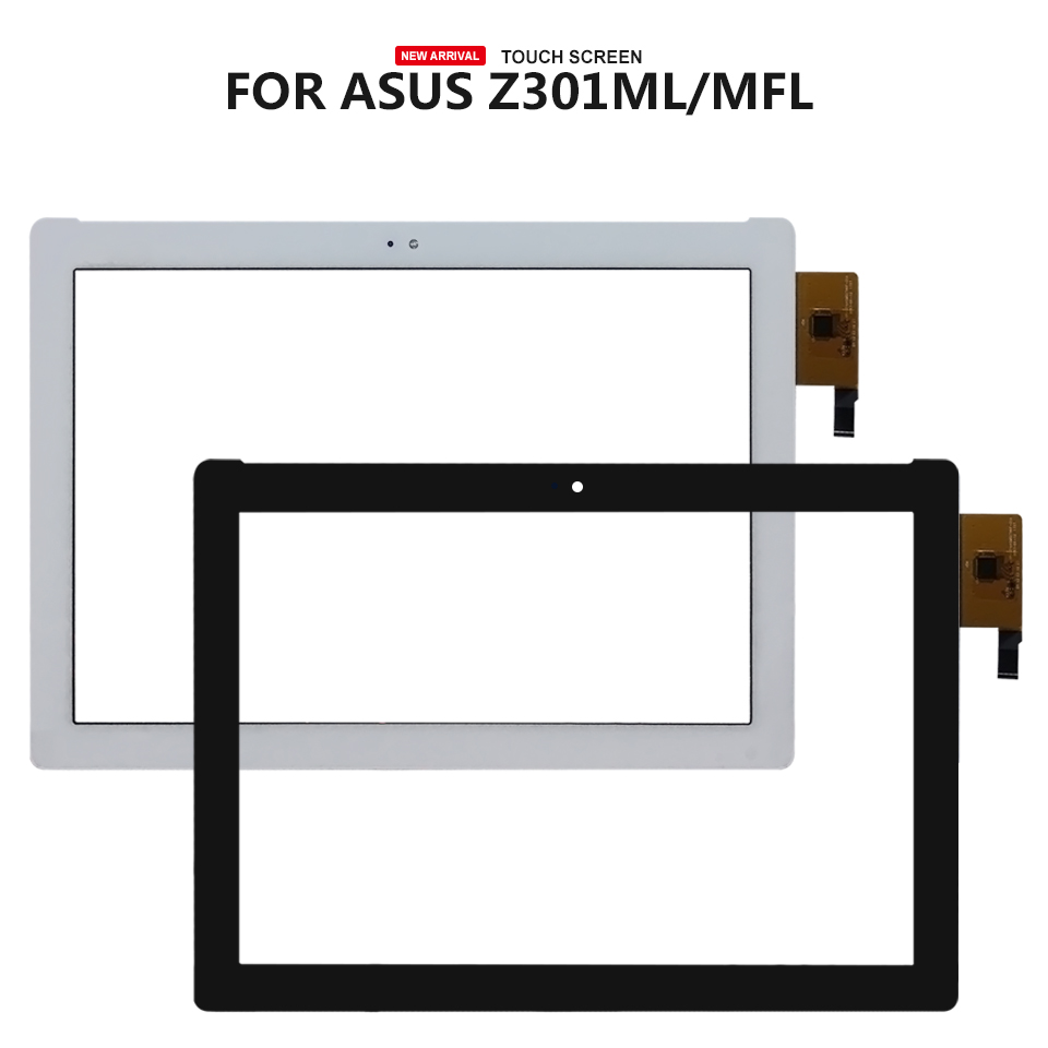 For ASUS ZenPad 10 Z301M Z301ML Z301MF Z301MLF P028 Touch Screen Digitizer Glass Panel Sensor Replacement for asus zenpad 10 z300 z300c z300cg p021 lcd display touch screen digitizer panel assembly