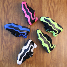 Spring Autumn Children Sport Shoes Mesh Breathable Girls Boys Running Shoes Non Slip Football Boot High Quality Kids Sneakers
