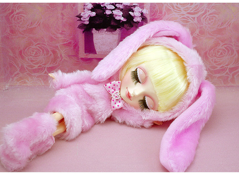 Free shipping 9inch Super cute Rabbit dress up TANGKOU doll Big Head and big eyes doll Can makeup doll Toys for girls 13 inches backpackers tangkou doll cute big eyes bjd doll can makeup diy toy for girls collectibles