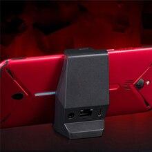 Nubia red magic 3 용 type c 데스크탑 충전기 독 nubia red magic 3 용 스마트 폰 3.5mm 이어폰 홀 충전 스테이션 충전기