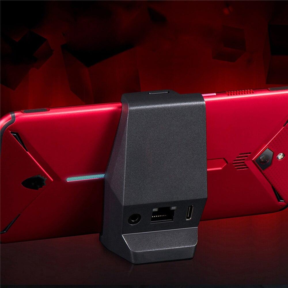 Type C chargeur de bureau Dock pour Nubia rouge magique 3 Smartphone 3.5mm écouteur trou Station de charge chargeur pour Nubia rouge magique 3