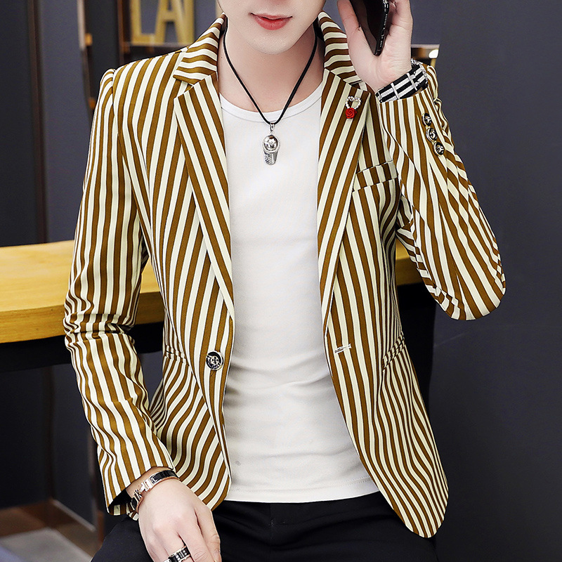 COO 2020 Men's Suits Cultivate One's Morality Spring Blazer Youth Fashion