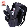 2017 tigernu impermeable de gran capacidad de 17 pulgadas hombre bolsa de ordenador portátil mochila negro mochila para mochilas escolares mujeres mochila masculina