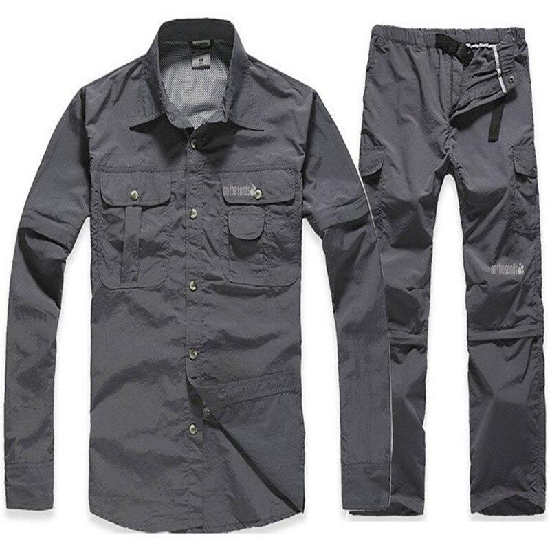 d6cf4c53333764 Quick seco camisa & calças terno nova Primavera & Verão dos homens ...