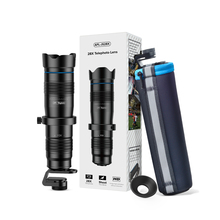 APEXEL 28X 電話カメラレンズ望遠鏡レンズ + SelfieTripod 望遠ズーム HD 単眼とすべてのスマートフォン用リモートシャッター