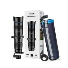 Apexel 28x lente da câmera do telefone lente telescópio + selfiezopod telefoto zoom hd monocular com obturador remoto para todos os smartphones