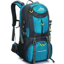 50L Professional Camping Sport Bag Rucksack Backpack Waterproof Breathable Outdoor Fishing Climbing Bag