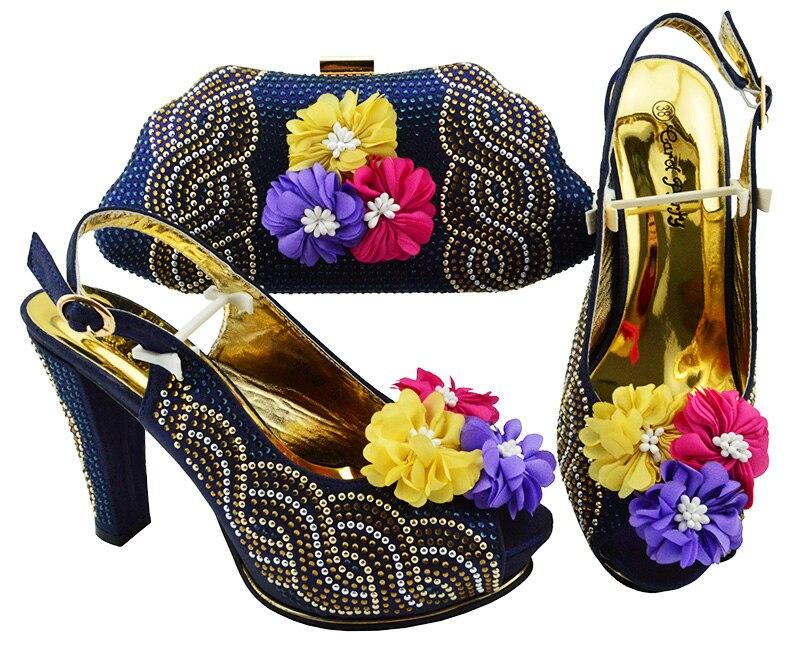 Sandalias Con Italianos Talón Y Mujeres Zapatos Marino Pulgadas Embragues Del Manera Azul De En Las 2 4 Sb8193 Alto Bolso 1qt5TOS