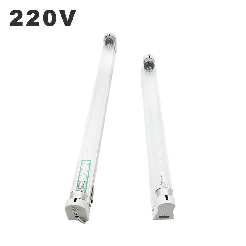 T8 Ultraviolet Lamps 220V Domestic Germicidal Lamp UVC Sterilization Lights 10W 15W Household Disinfection UV Lamp With Ozone