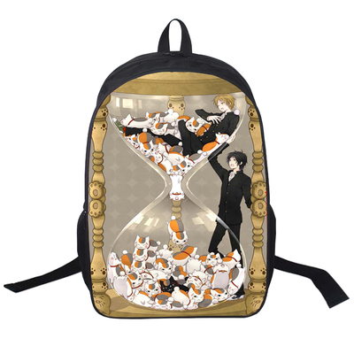Anime Natsume Yuujinchou Cosplay Student male and female leisure travel backpack computer bag child birthday gift