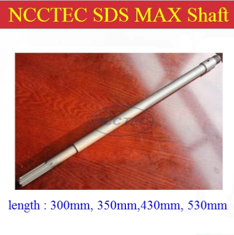 цена на [SDS MAX] 300mm 12'' long NCCTEC connection shaft NCP300SDSMAX for wall core drill bits | FREE shipping with FREE gift