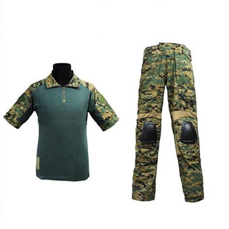 где купить us army military uniform for men Combat Uniform - Summer Edition (Marpat Woodland MC) tactical uniform M,L,XL по лучшей цене