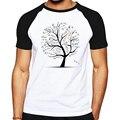 Matemática Matemática Fórmula Árvore Impresso Camiseta de Manga Curta Verão Camiseta Estilo Casual de Algodão Raglan Totós T-Shirt Dos Ganhos para os homens