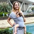 Novo Estilingue Do Bebê Envoltório Portador de Bebê Hipseat Backpack & Saco crianças Yrs Birh-3 Amamentação Algodão Natural Produtos