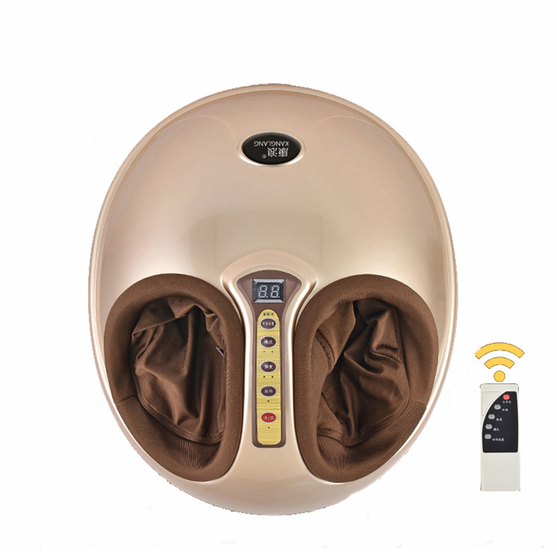 все цены на Electric Vibrating Foot Massager Health Care Massage Infrared Heating Therapy Roller Shiatsu Kneading Air Pressure Machine 220V
