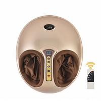 Electric Vibrating Foot Massager Health Care Massage Infrared Heating Therapy Roller Shiatsu Kneading Air Pressure Machine 220V