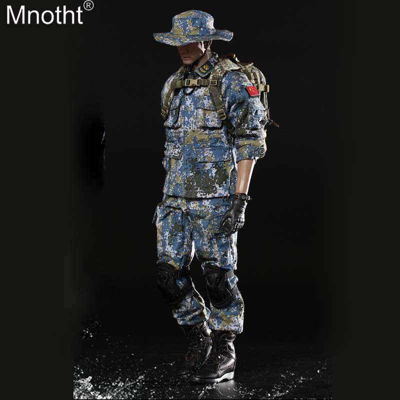Mnotht FS-73011 1/6 Gulf of Aden Escort Marine Corps Set Suit Male Clothes Model Toy for 12in Soldier Movable Action Figure m3nMnotht FS-73011 1/6 Gulf of Aden Escort Marine Corps Set Suit Male Clothes Model Toy for 12in Soldier Movable Action Figure m3n