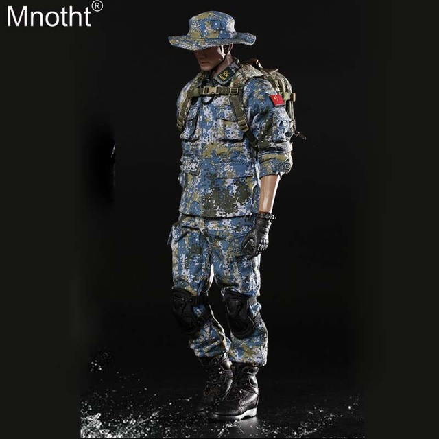 Mnotht FS-73011 1/6 Gulf of Aden Escort Marine Corps Set Suit Male Clothes Model Toy for 12in Soldier Movable Action Figure m3n