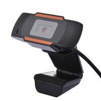 Веб-камера USB веб-камера HD 12.0MP PC камера с поглощающим микрофоном для Skype для Android ТВ вращающаяся Компьютерная камера
