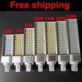 Real power g24 led 2 pins g24d-1 g24d-3 g24d-3 pl bulb Lamp 5W 7W 9W 10W 11W 12W 14W SMD5730 5050 2835 AC85-265V 110V 220V