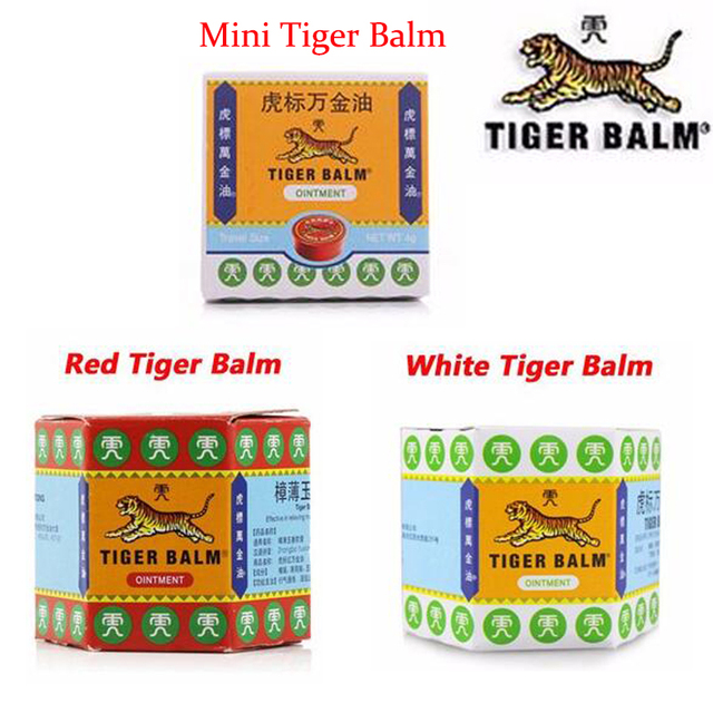 Thailand Painkiller Tiger Blam Muscle Pain Relief Ointment Soothe Itch Massage Oil
