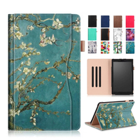 For Amazon Kindle Fire HD10 2017 PU Leather Case Cover 10 1 Protective Stand For Amazon