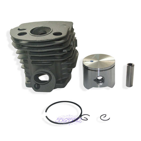 Engine Motor Cylinder Piston Rings Kit For Husqvarna 55 51 50 Chainsaws 45mm cylinder kit piston set with rings needle bearing engine pan cap for stihl ms250 1123 020 1209 replaces