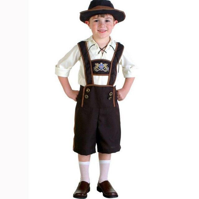 2017 new oktoberfest german beer party boys costume