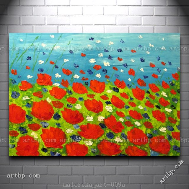 Summer colors malorcka original oil painting poppies poppy field summer colors malorcka original oil painting poppies poppy field flowers abstract large abstract paintings sale classic mightylinksfo