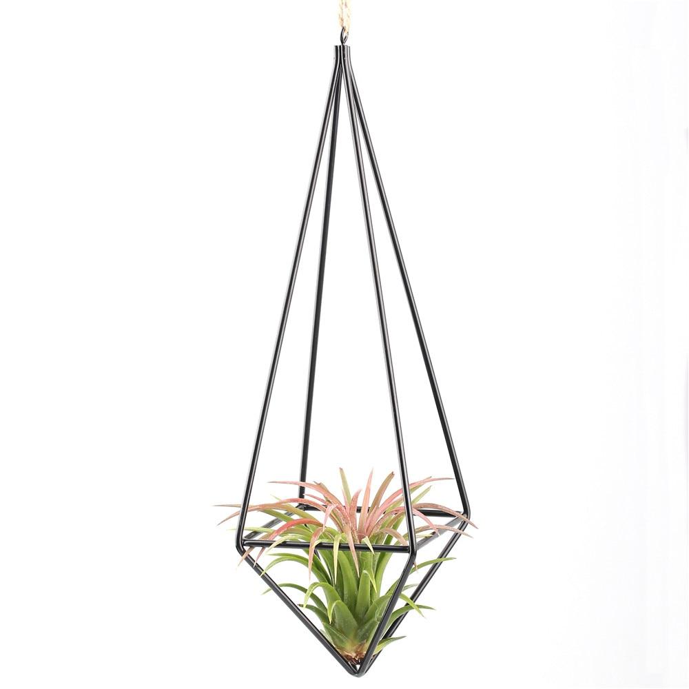 În aer liber plante Tillandsia agățat Rack Metal Geometric Himmeli - Produse de grădină