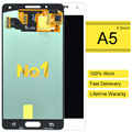 2 unids 100% nueva highscreen venta caliente para samsung galaxy a5 lcd a5000 a500 lcd asamblea de pantalla táctil negro blanco