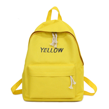 2018 New Preppy Style 5 Candy Colors Canvas Daily Backpacks Chic Simple School Bags For Teenager Girls Travel Laptop Rucksacks korean and japanese style cute girls canvas backpacks student school bags travel casual rucksacks candy color shoulder bags 969t