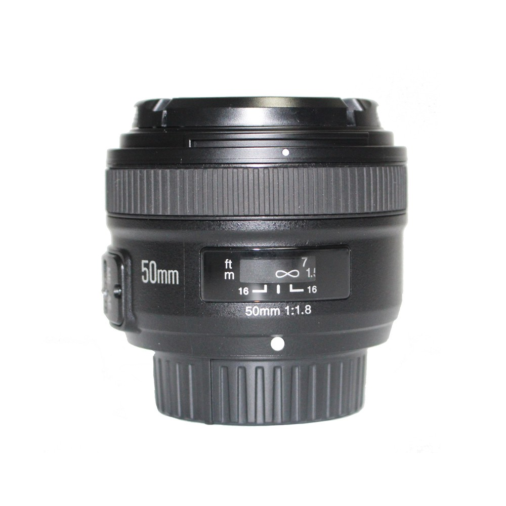 Objectif YONGNUO YN35mm F2.0 F2N, objectif YN50mm pour Nikon F Mount D7100 D3200 D3300 D3100 D5100 D90 appareil photo reflex numérique, pour appareil photo reflex numérique Canon - 5