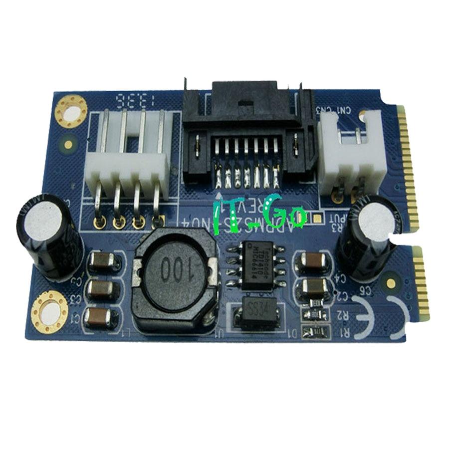 7pin SATA адаптер жесткого диска SSD Кабельный адаптер-переходник на mSATA ADPM0102