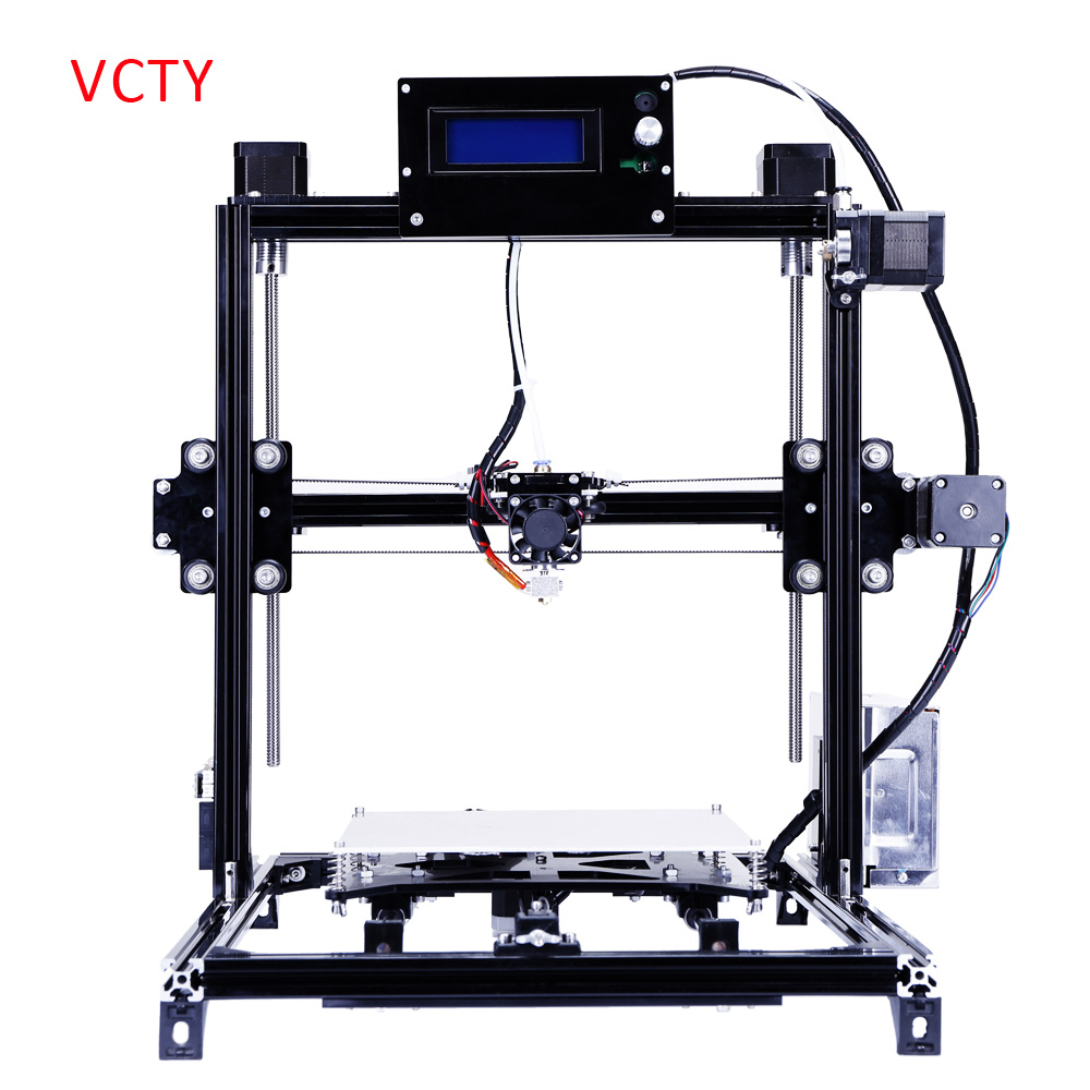 2016 Free Shiping 3d-printer Full Metal Large Printing Size High Quality Precision 3D Printer machine