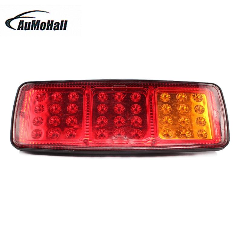 1 пара 2x24V 36 светодиодных автомобилей грузовик из светодиодов хвост свет автомобиля Источник света автомобилей стайлинг авто аксессуары горячие продажи