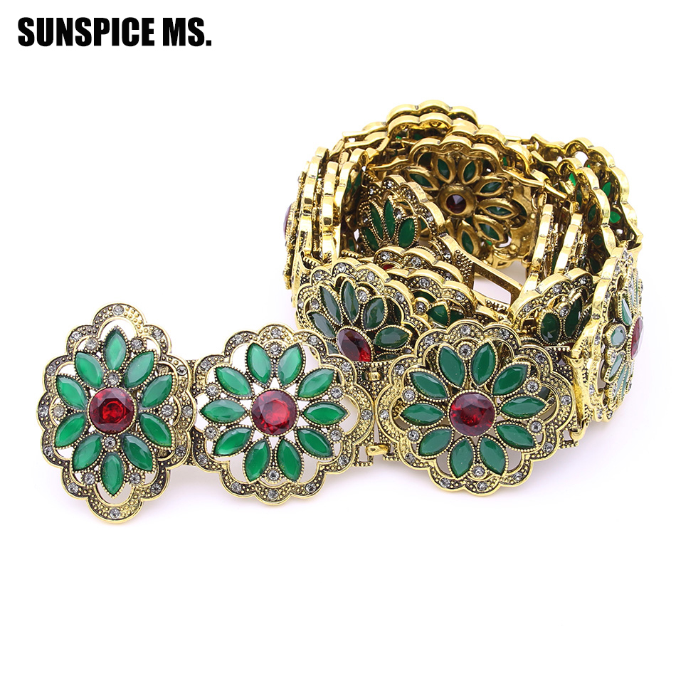 Vintage Bohemia Women Round Resin Flower Belly Chain Belt Antique Hollow Metal Waist Chain Indian Ethnic Wedding Body Jewelry elegant lace floral appliques flower girls dress cute mint green sleeveless pearls beaded kids pageant ball gowns for communion