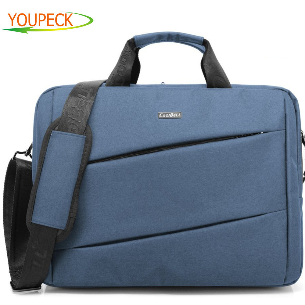 14 15 6 inch font b Laptop b font Notebook bag Crossbody Business Briefcase Computer Shoulder