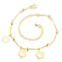 Wholesale New Fashion Women Fine Jewelry Woman Zircon Anklets Bracelet Female Foot Chain YMW-ZD118