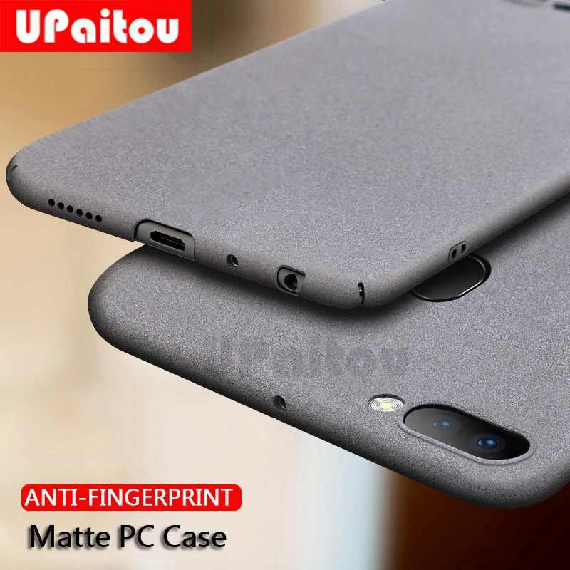 UPaitou Sandstone PC Case for OPPO R7 R7S R9 R9S R11 Plus Hard Plastic Matte Cases for OPPO R11 R9S Plus Anti Fingerprint Cover