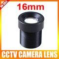 Tablero de 16mm Mini Lente de Ángulo de 20 Grados CCTV Lente de La Cámara M12