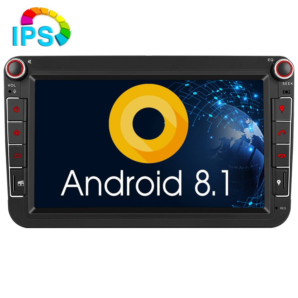 Pumpkin Android 8 1 2G RAM Car Multimedia Player2 din 8 IPS Car Radio GPS Car